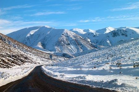 雪山 ニュージーランド