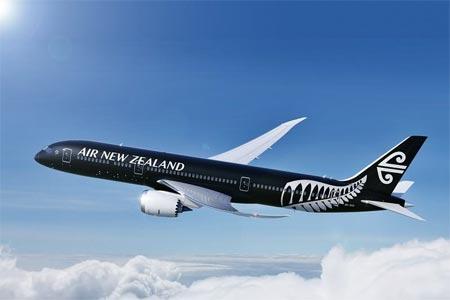 ニュージーランド航空 関空直行便