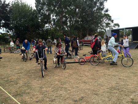 自転車 ニュージーランド