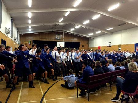 ニュージーランド高校留学 新入生歓迎