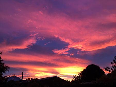 ニュージーランドの空
