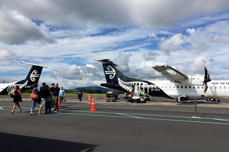 ニュージーランド航空 タウランガ