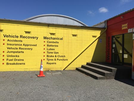 車の修理 ニュージーランド