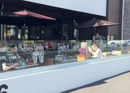 クライストチャーチのカフェ