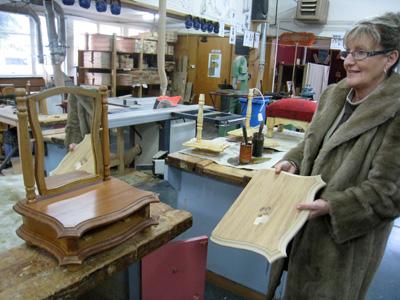 ニュージーランドの高校 木工の授業