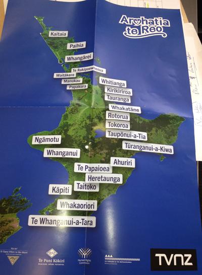 ニュージーランド マオリ語週間