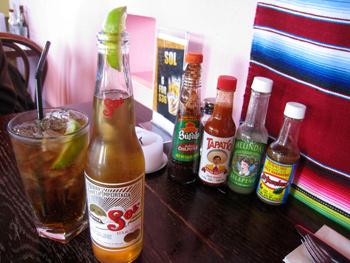 メキシコのビール SOL
