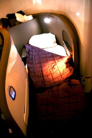 ニュージーランド航空 ビジネスクラスのシート
