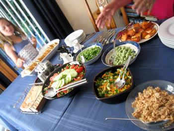 ニュージーランド家庭の料理