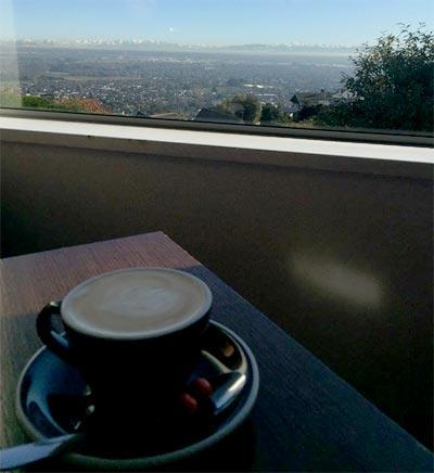 クライストチャーチのカフェ CUP