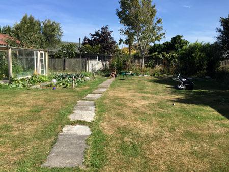 家庭菜園 ニュージーランド