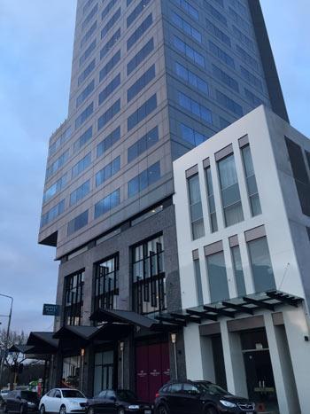 Crowne Plaza Christchurch hotel