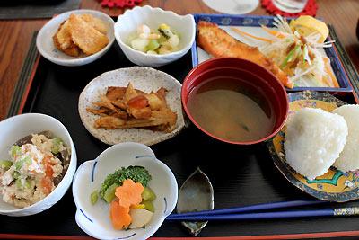 クライストチャーチで日本食