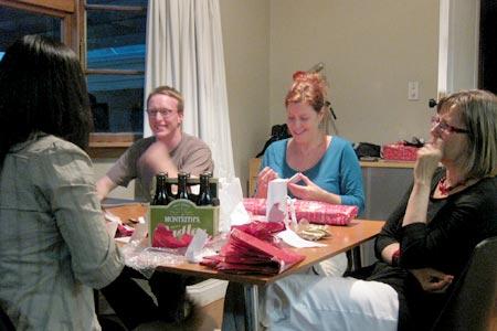 ニュージーランドのクリスマスパーティー