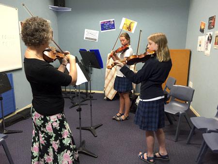 バイオリンのレッスン ニュージーランド