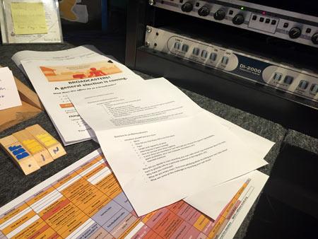 ラジオ 原稿