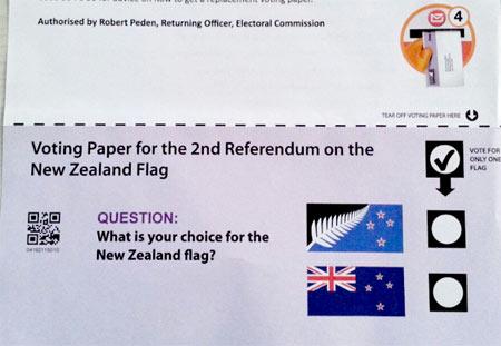 ニュージーランドの国旗投票