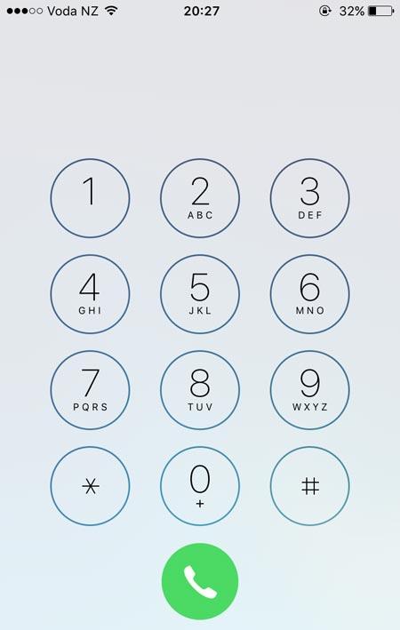 ニュージーランドの電話番号