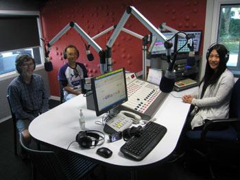 ニュージーランドと日本を自転車で ラジオ