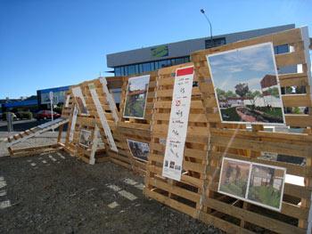 ニュージーランド地震で出来た空き地を生かす