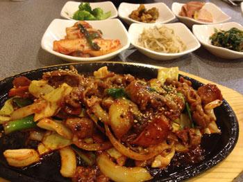 スパイシーポーク 韓国料理