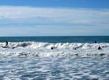 ニュージーランド ビーチ