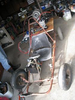ゴーカートのエンジンを自作