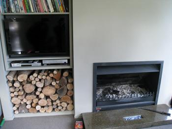 暖炉 ニュージーランド