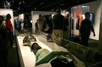 ニュージーランドの地震 展示