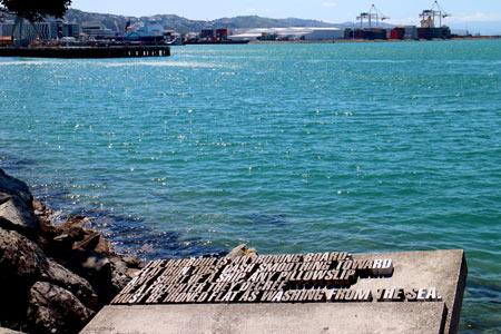 ニュージーランドの首都ウエリントン