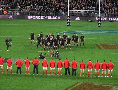 Auckland All Blacks game