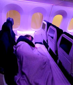 エコノミークラス ニュージーランド航空