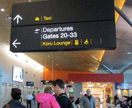 ニュージーランドの空港