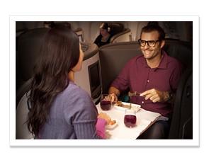ニュージーランド航空 ビジネスクラス