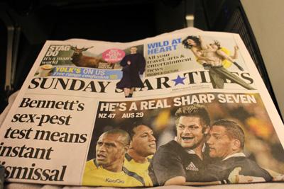 ニュージーランドの新聞