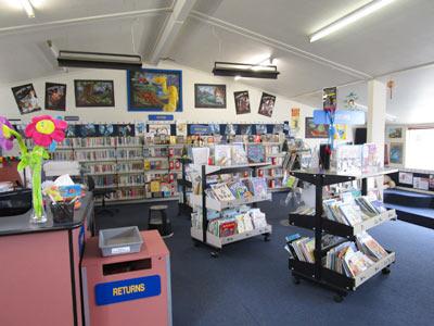クライストチャーチの小学校 図書館