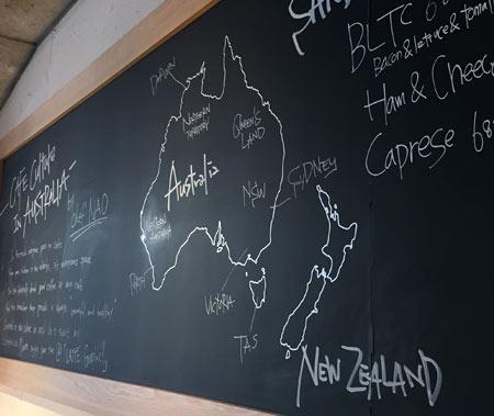 オーストラリア ニュージーランド カフェ