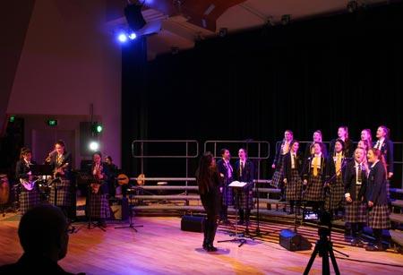 ニュージーランドで合唱