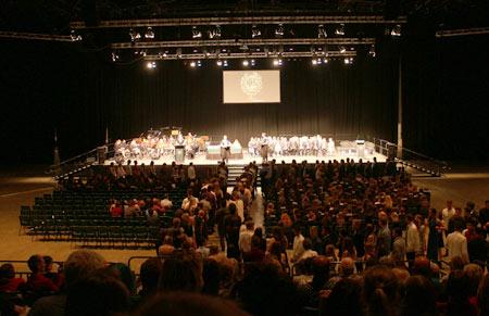 ニュージーランドの卒業式
