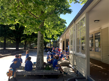 小学校の休み時間