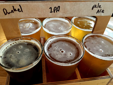 クラフトビールテイスティング
