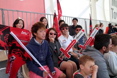 スーパーラグビー観戦 ニュージーランド