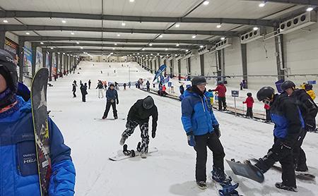 オークランドのスキー場