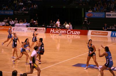 ニュージーランド ネットボール