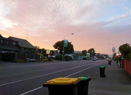ニュージーランドで朝活
