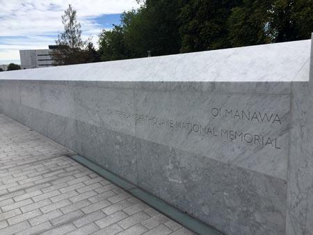 ニュージーランド 地震追悼式
