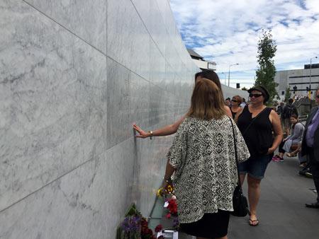 クライストチャーチ 地震記念碑