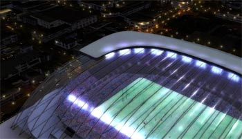 クライストチャーチの新しいスタジアム計画