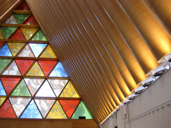 ニュージーランド 仮設大聖堂 クライストチャーチ