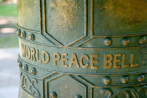 世界平和の鐘 ニュージーランド
